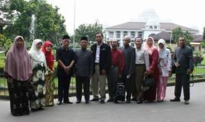 Lawatan Prof. Kamaruzaman & Ummu Hani dkk