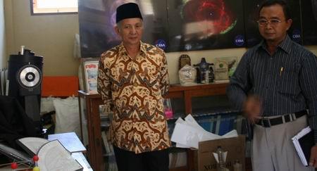 Kyai Fathurrohman Basuni kunjungi Lab. CASA