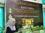 Ibu Hj. Siti Aminah Abdullah, membuka Raker 28 Juni 2008