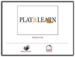 Tampilan play & Learn yang siap dimainkan