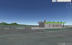 My House on 3D Google Earth