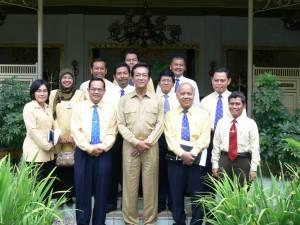 Prof. Sugeng Mardiyono danSultan