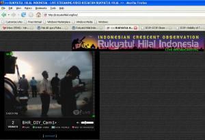 Live Rukyah oleh BHR DIY di Pantai Parangkusumo