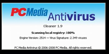 PC Media Anti virus versi 1.9