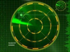 Radar melacak sekeliling