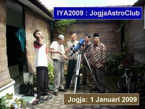 Observasi Sun Spot di Jogja Astro Club