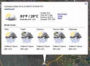 Cuaca Klaten beberapa hari ini