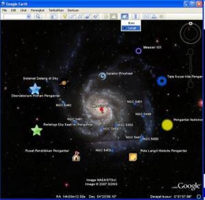 Jalan2 ke angkasa via GE 5.0