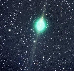 Komet Lulin yang Hijau itu...
