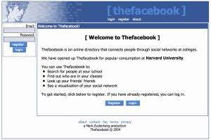 Face Book, 12 Feb 2004