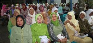 Jamaah Putri, Kajian PITEK dan Islam di Prambanan