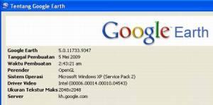 GE versi 5 Mei 2009