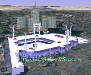 Model 3D Masjidil Haram karya Muslim Mali