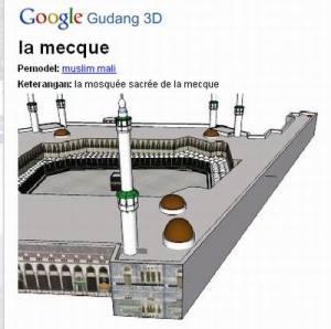 Pemodel 3 D Masjidil Haram