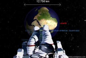 Diameter Bumi