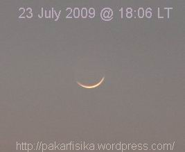 New Crescent of Shaban 1430 AH