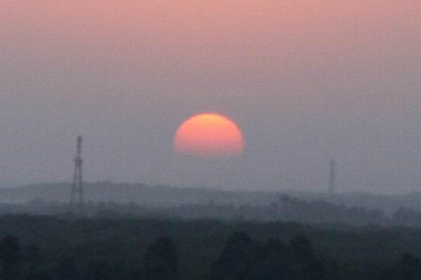Menjelang Sunset (terbenam). Pasca Sunrise (terbit)
