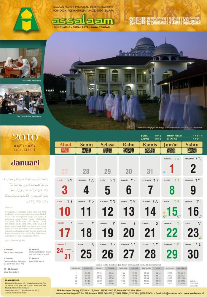 Kalender 2010 M (1431-1432 H) (3/6)