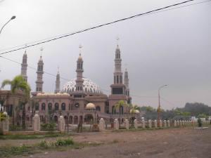 Arah Masjid di lokasi sudah dibelokkan
