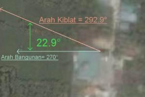 Koreksi Kiblat Masjid Istiqomah Badak 1