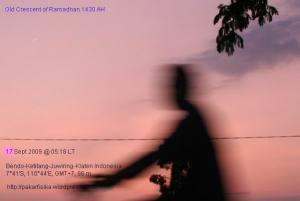 Hilal Penutup Ramadhan 1430 H