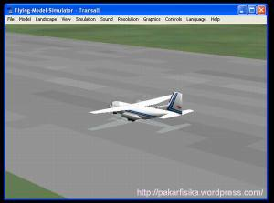 Flying Model Simulator
