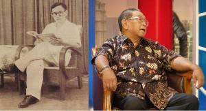 Gus Dur semasa Muda dan Tua ketika duduk