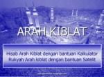 Kiblat:Syar'i-Sains