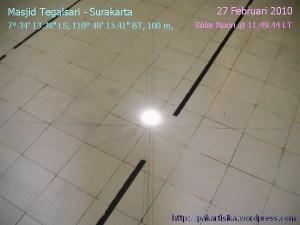 Solar Noon di Tegalsari