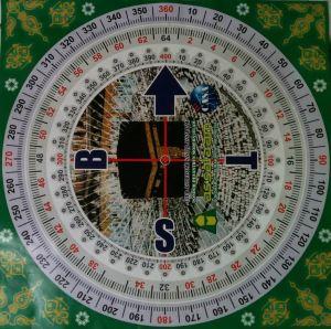 Kompas Kiblat - CASA