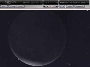 Gerhana Venus berakhir