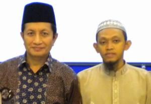 Bersama Prof. Dr. Nazaruddin, MA