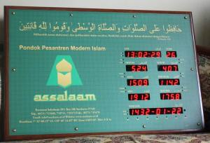 Jadwal Waktu Sholat Digital Assalaam