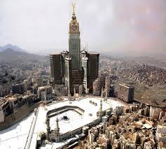 Jam Raksasa di kota Mekkah