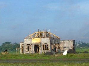 Foto Masjid pada 23 Nopember 2011 (dari Timur)
