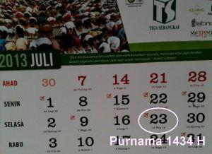 Purnama 1434 H versi TS
