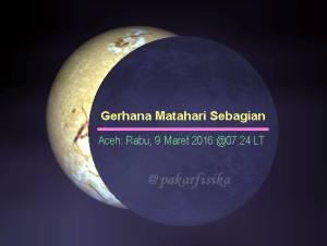 GMS 9 Maret 2016 - dari Aceh