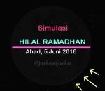 Hilal1 Ramadhan n1437 H