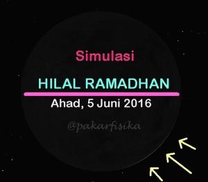 Hilal1 Ramadhan 1437 H