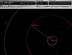 Oposisi Planet Jupiter 2017