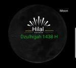 Simulasi Hilal Haji 1438 H