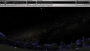 Simulasi Posisi Wajah Bulan saat puncak GBS (8/8)